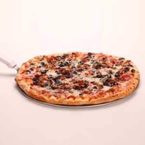 Pepperoni, Sausage, Mushroom, Black Olive & Extra Cheese