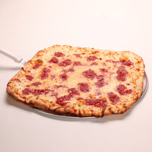 NY Favorite Square Thin Crust Pizza with Tasty Marinara Sauce
